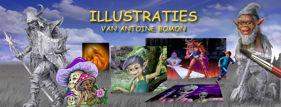 Illustraties van Antoine Bomon - Intro