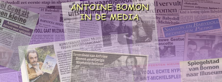 Antoine Bomon in de media