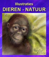 Illustraties van Antoine Bomon - Dieren - Naruur - Button